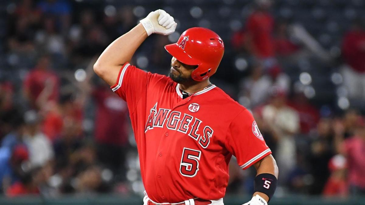 Angels' Albert Pujols becomes MLB's all-time hit king among players born outside the United States