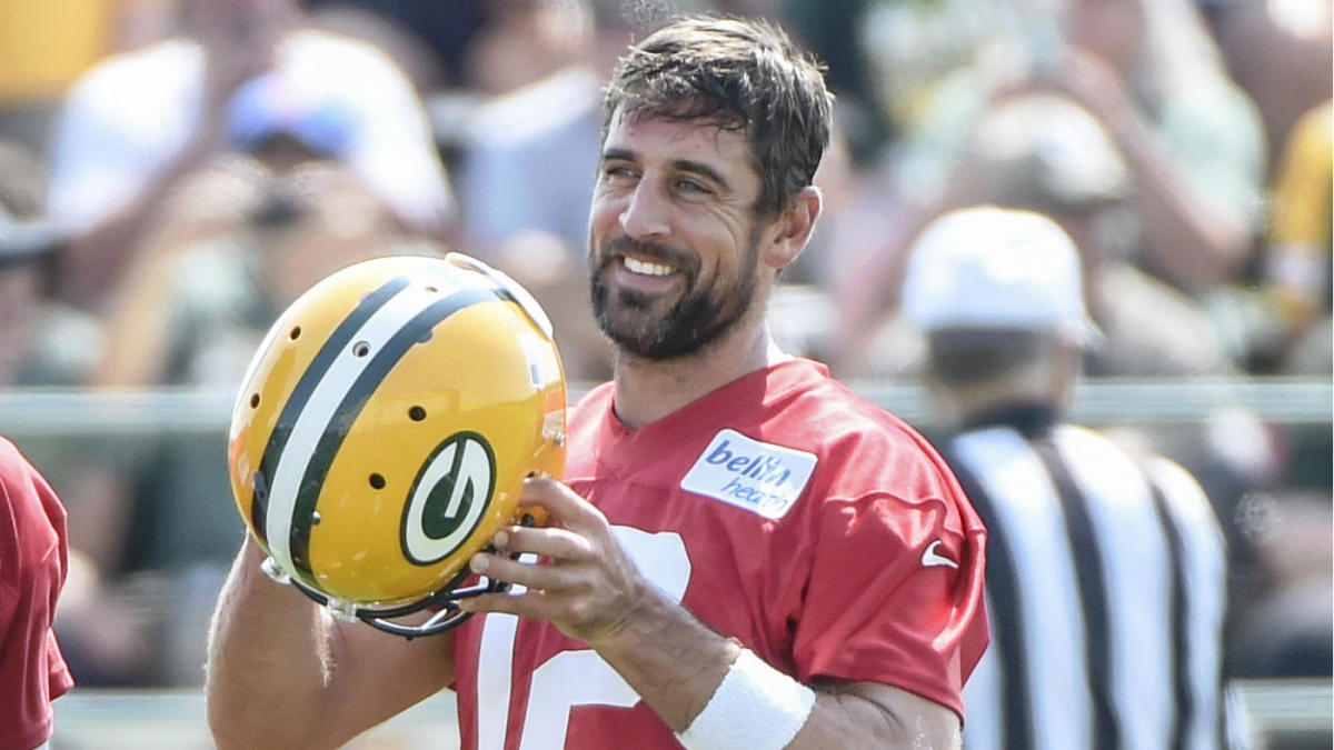 Here's one major reason why 'league average' Aaron Rodgers can bounce back big for Packers in 2019
