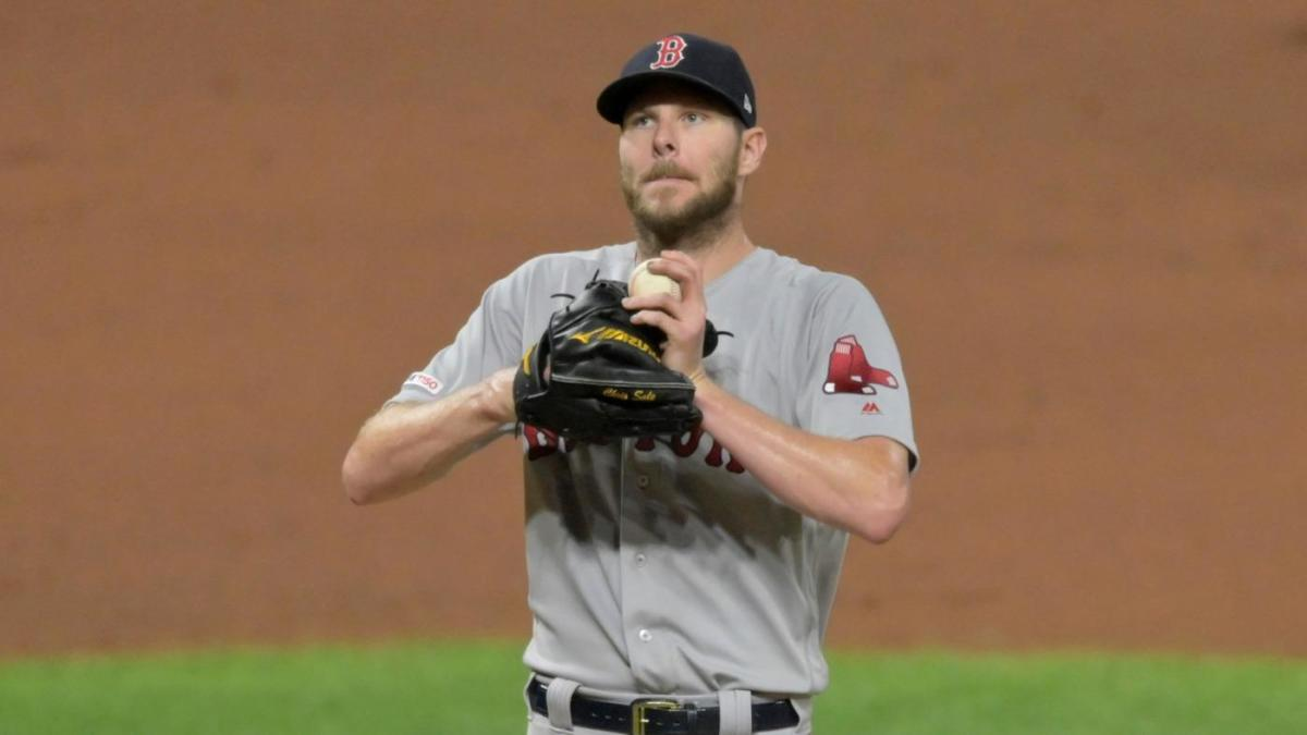 Red Sox ace Chris Sale to see Dr. James Andrews for second opinion on injured elbow