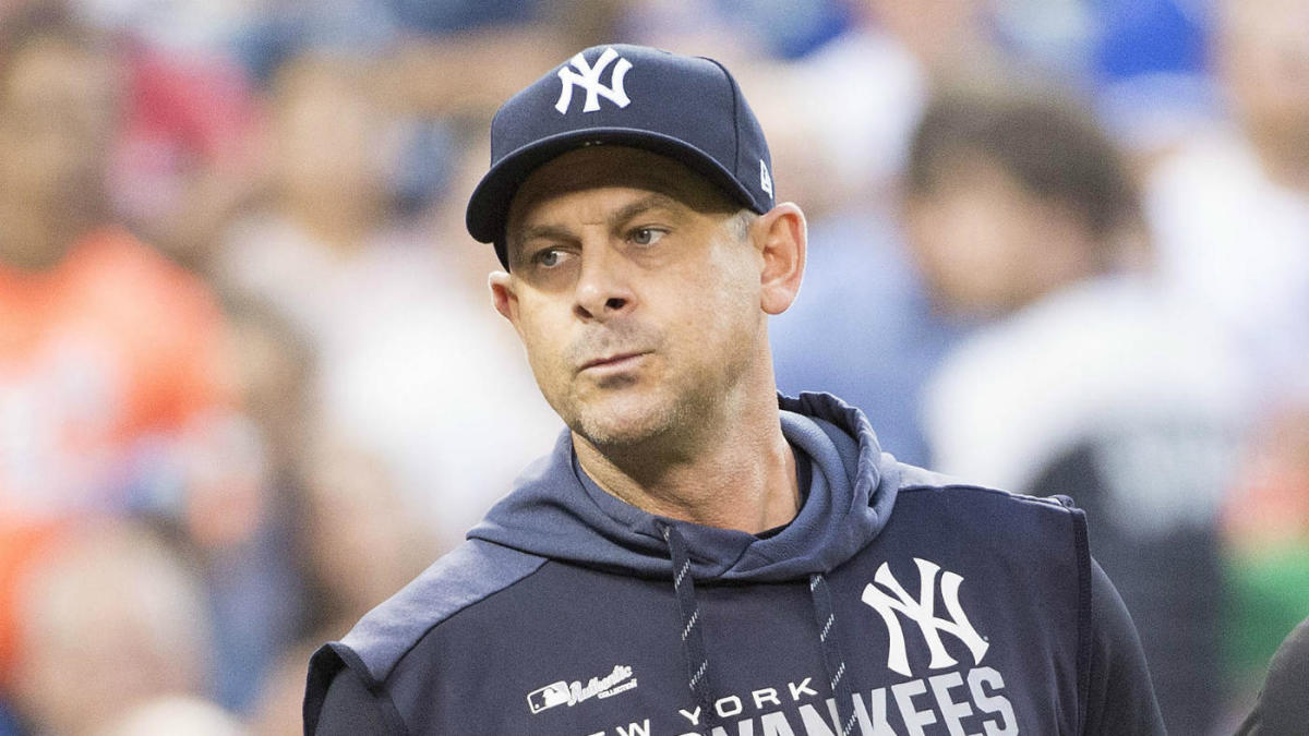 WATCH: Several Yankees including manager Aaron Boone thrown out of game against Indians