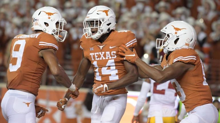 Texas WR Joshua Moore, a former four-star prospect, charged with carrying a loaded gun
