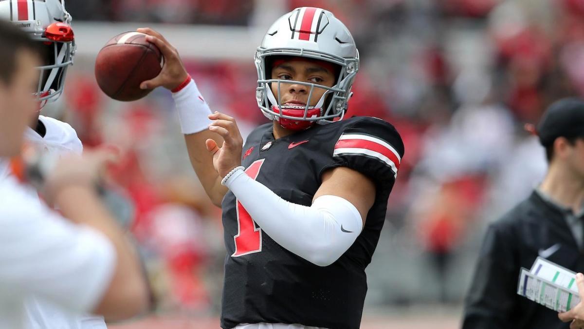 Ohio State names Georgia transfer Justin Fields starting quarterback ahead of 2019 season
