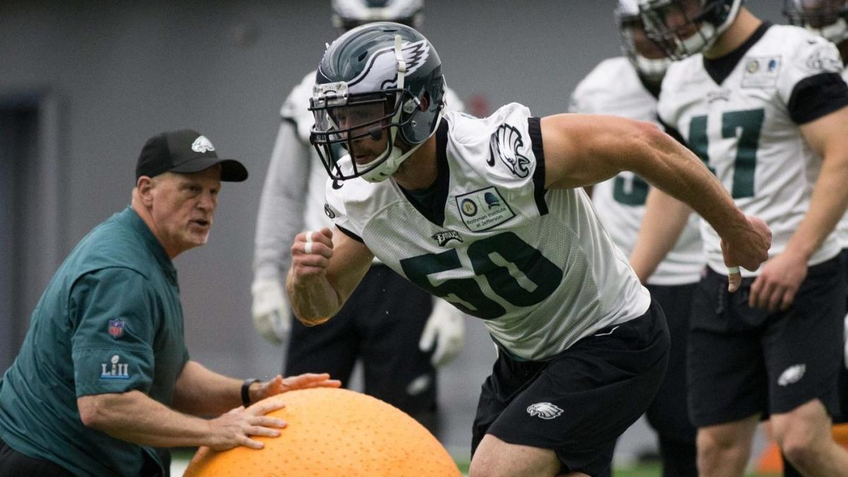 Eagles release linebacker Paul Worrilow, start to solidify linebacker rotation