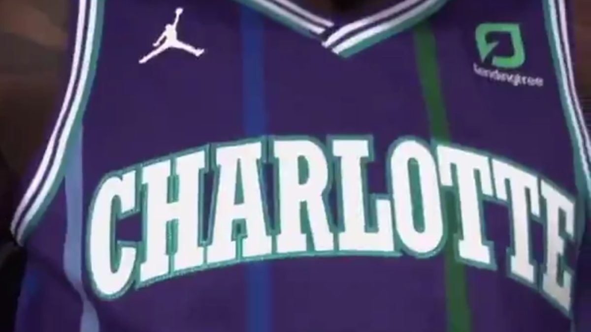 watch 96cec cb8cf Charlotte Hornets going retro with '90s purple throwbacks ...