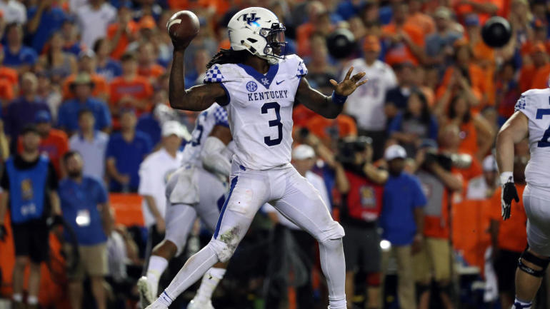 huge selection of f94f7 2f782 Kentucky starting quarterback Terry Wilson out for season ...