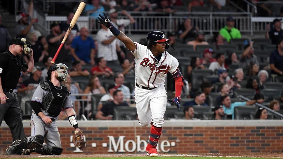 MLB scores: Braves walk-off to sweep Marlins; Max Scherzer returns in Nationals win