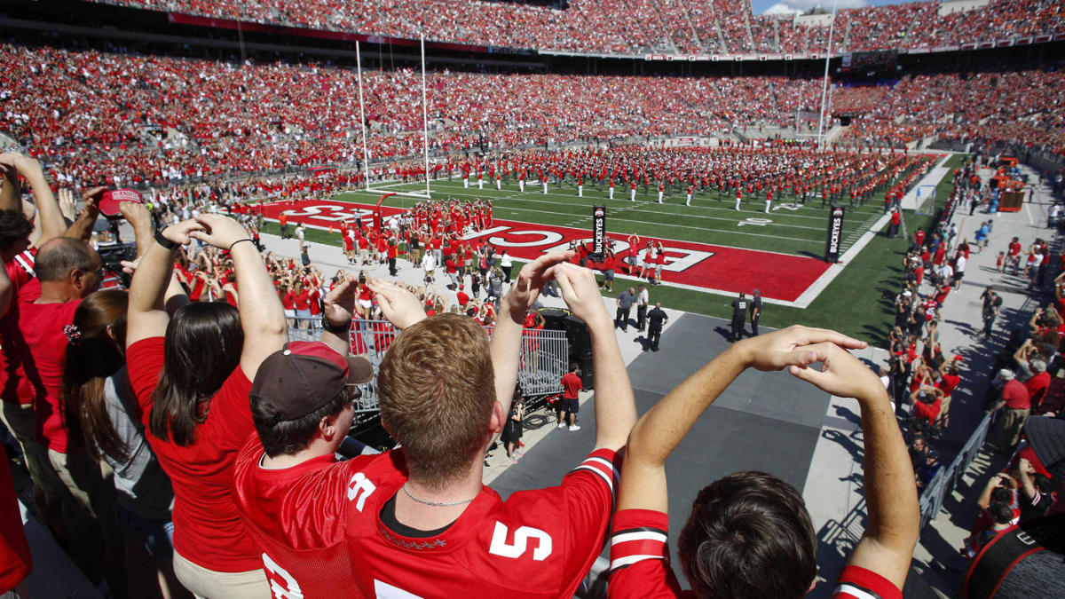 What makes going to an Ohio State college football game in Columbus a unique game-day experience