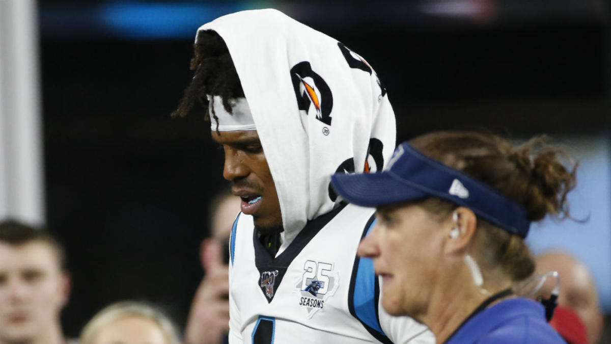 NFL Week 3 preseason updates, scores: Cam Newton injures foot, Daniel Jones delivers again