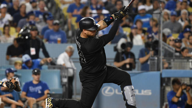 more photos 11ad8 6ddaf MLB reportedly rejects Dodgers' request to wear traditional ...