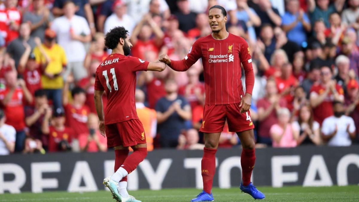 Liverpool Vs Arsenal Score Salah Destroys Gunners And Reds Cruise At Anfield To Stay Undefeated In Premier League Cbssports Com