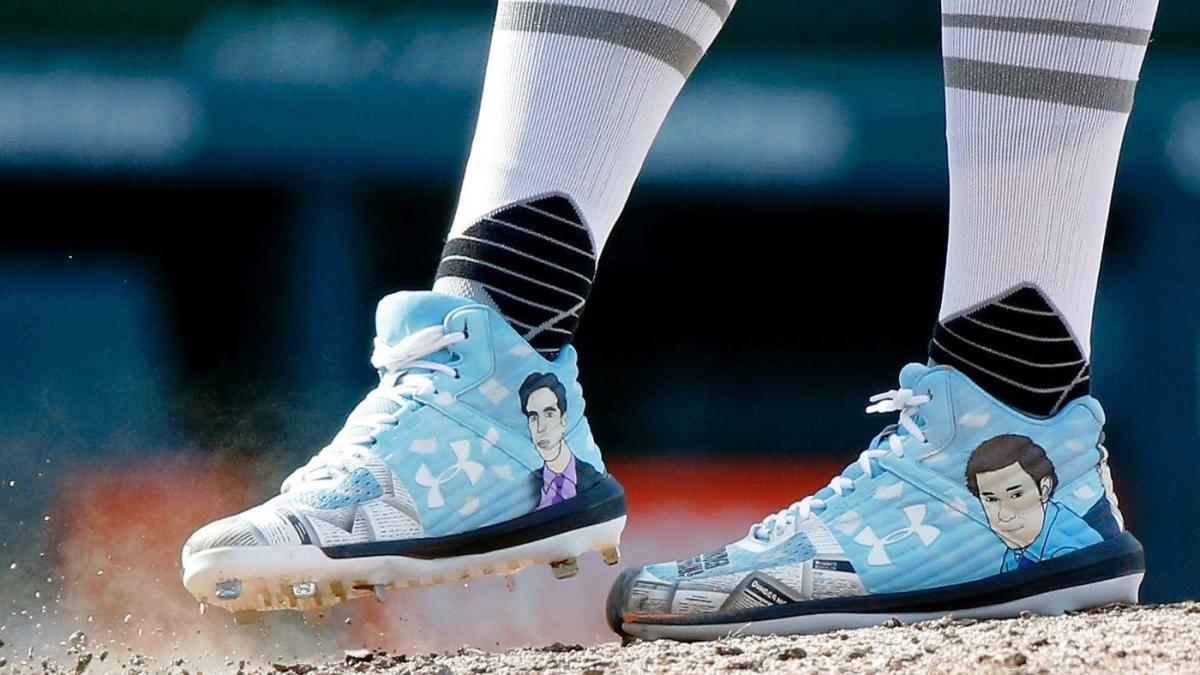 Best cleats from MLB Players' Weekend: Day at 'The Office' for Derek Holland; Mookie Betts honors David Ortiz and more