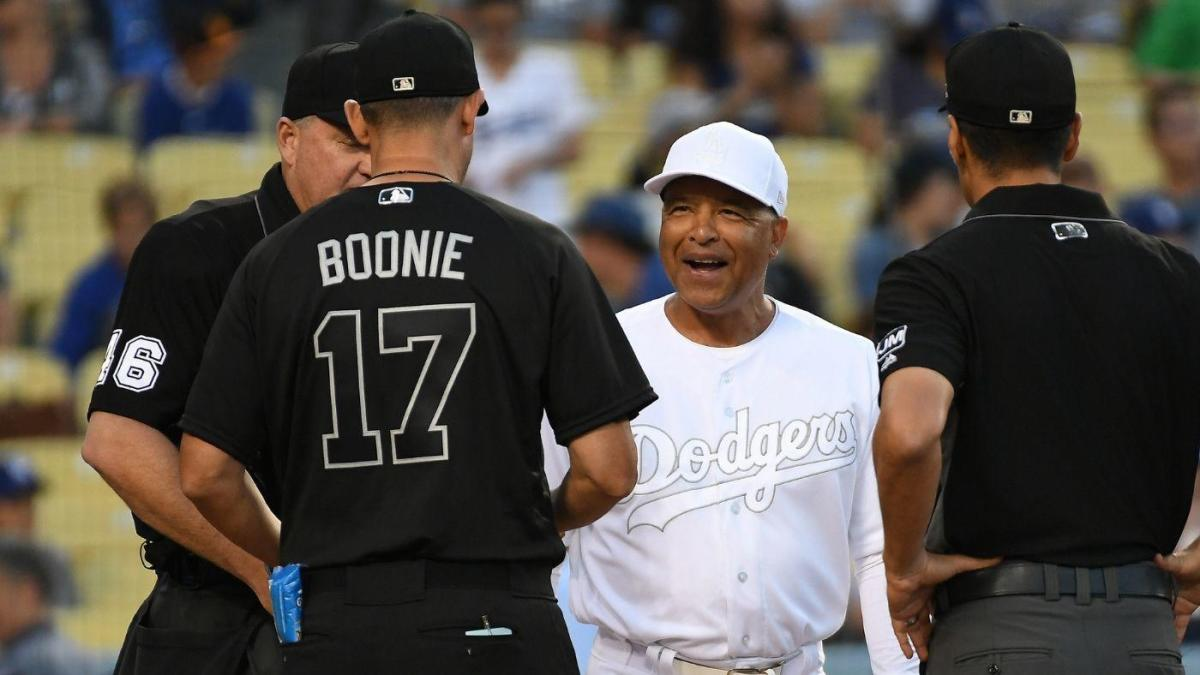 more photos f10cd e6571 MLB reportedly rejects Dodgers' request to wear traditional ...