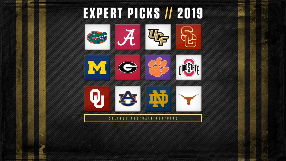 Projected Bowl Games 2020.2019 College Football Playoff Predictions Expert Picks
