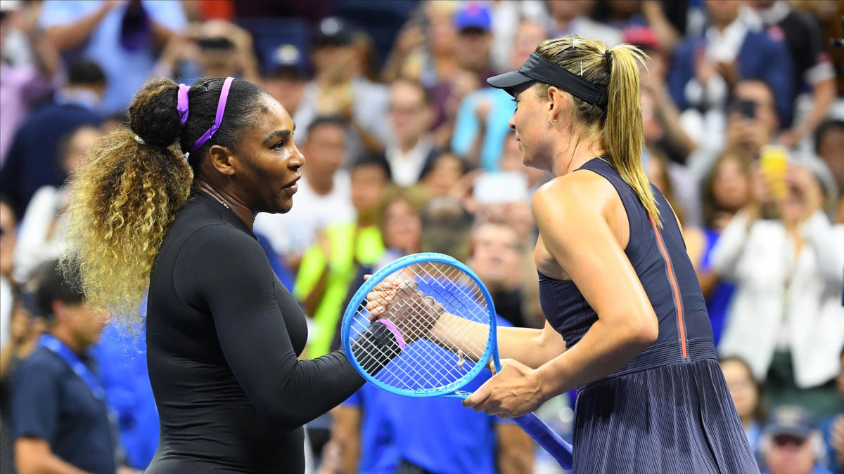 2019 US Open: Serena Williams defeats Maria Sharapova in straight sets to advance to the second round