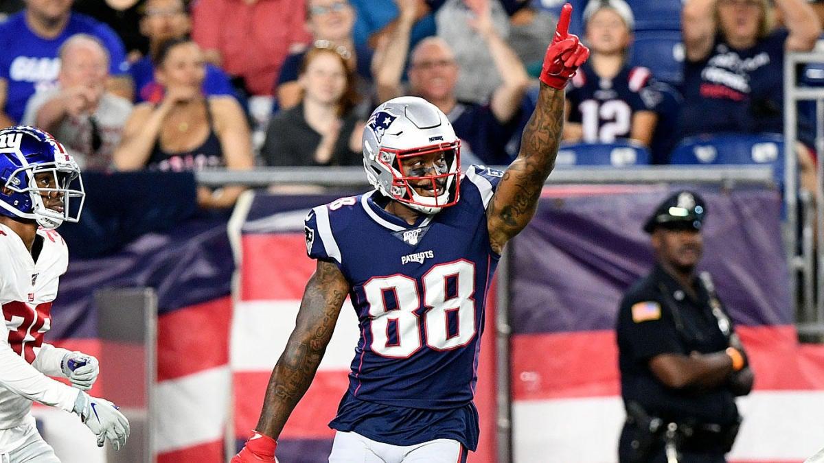 Patriots Depth Chart 2019: Questions still surround receiver