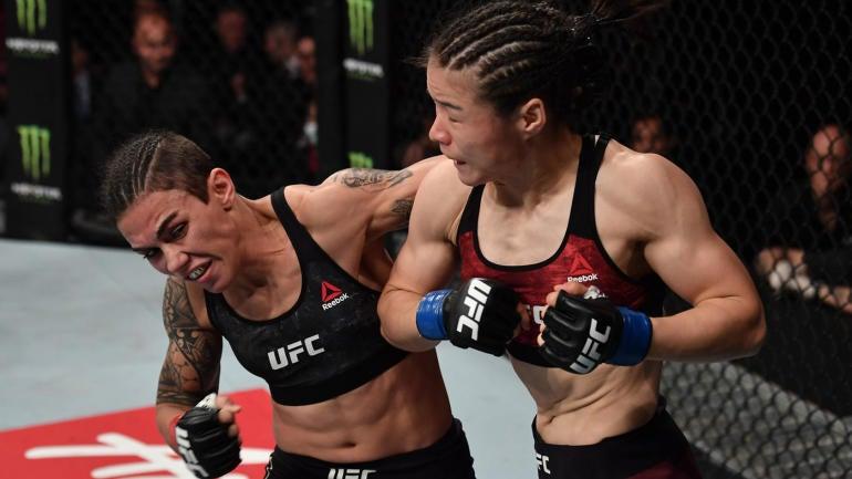 UFC Shenzhen results, highlights: Weili Zhang scores fast