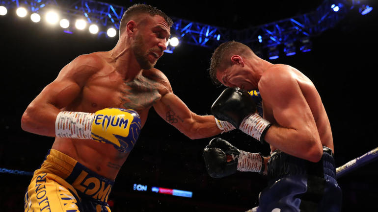 Vasiliy Lomachenko vs. Luke Campbell fight results: 'Loma' wins third lightweight title with decision