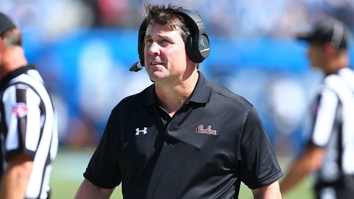 South Carolina staffer fired after allegedly fighting man dressed as Will Muschamp