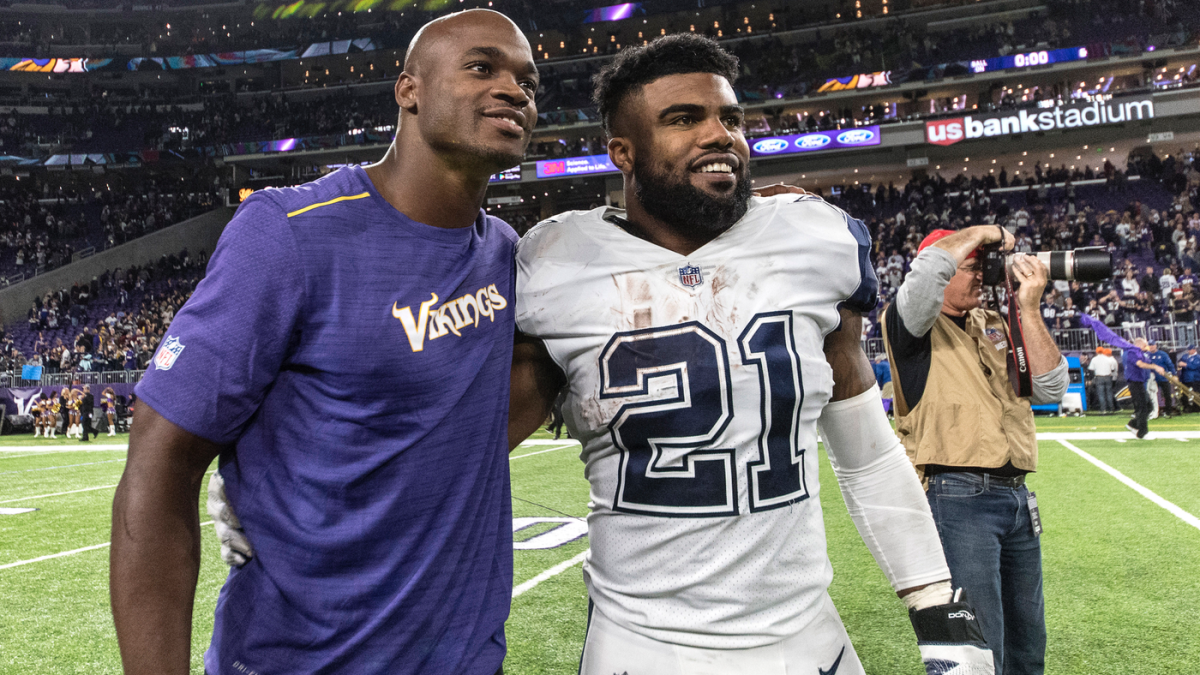 Ezekiel Elliott Contract Comparing Last 10 Nfl Rushing Champions By Salaries Team Records And More Cbssports Com