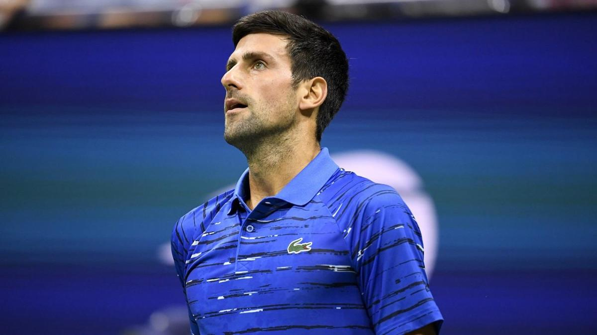 2019 Us Open Novak Djokovic Booed By Crowd After Retiring In Middle Of Match Due To Shoulder Injury Cbssports Com