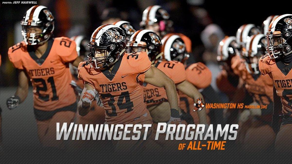 Top 50 Winningest High School Football Programs Of All
