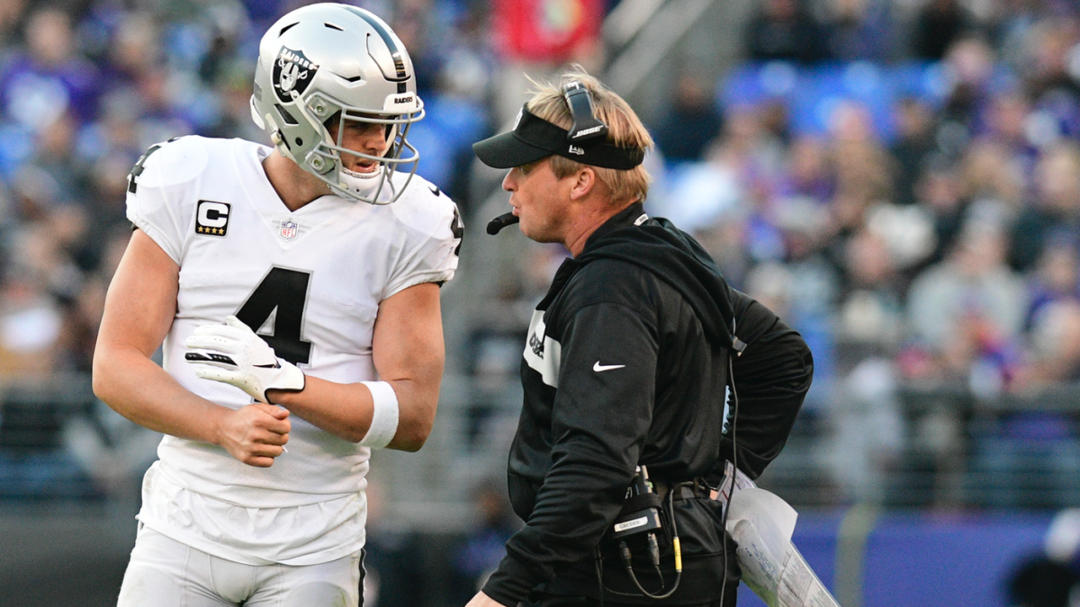 Raiders' captains reportedly supporting whatever Jon Gruden decides to do with Antonio Brown