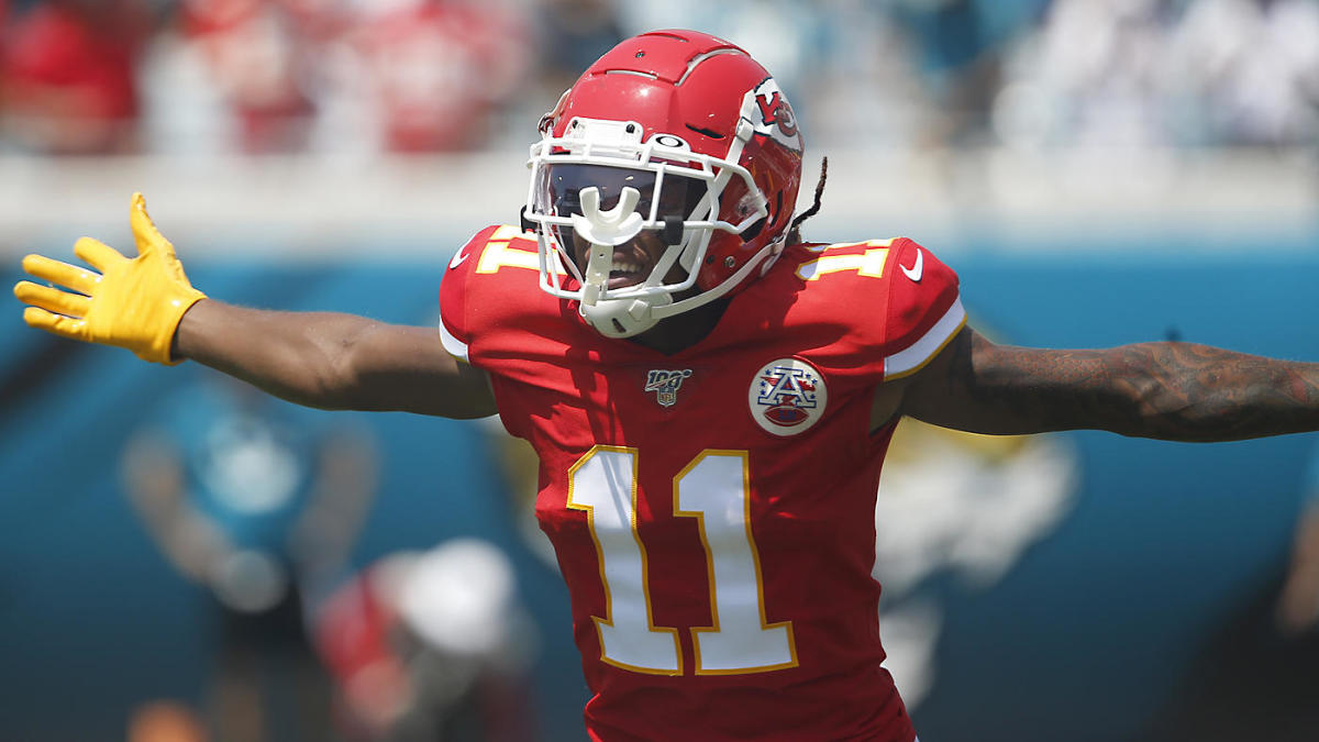 Image result for demarcus robinson CHIEFS