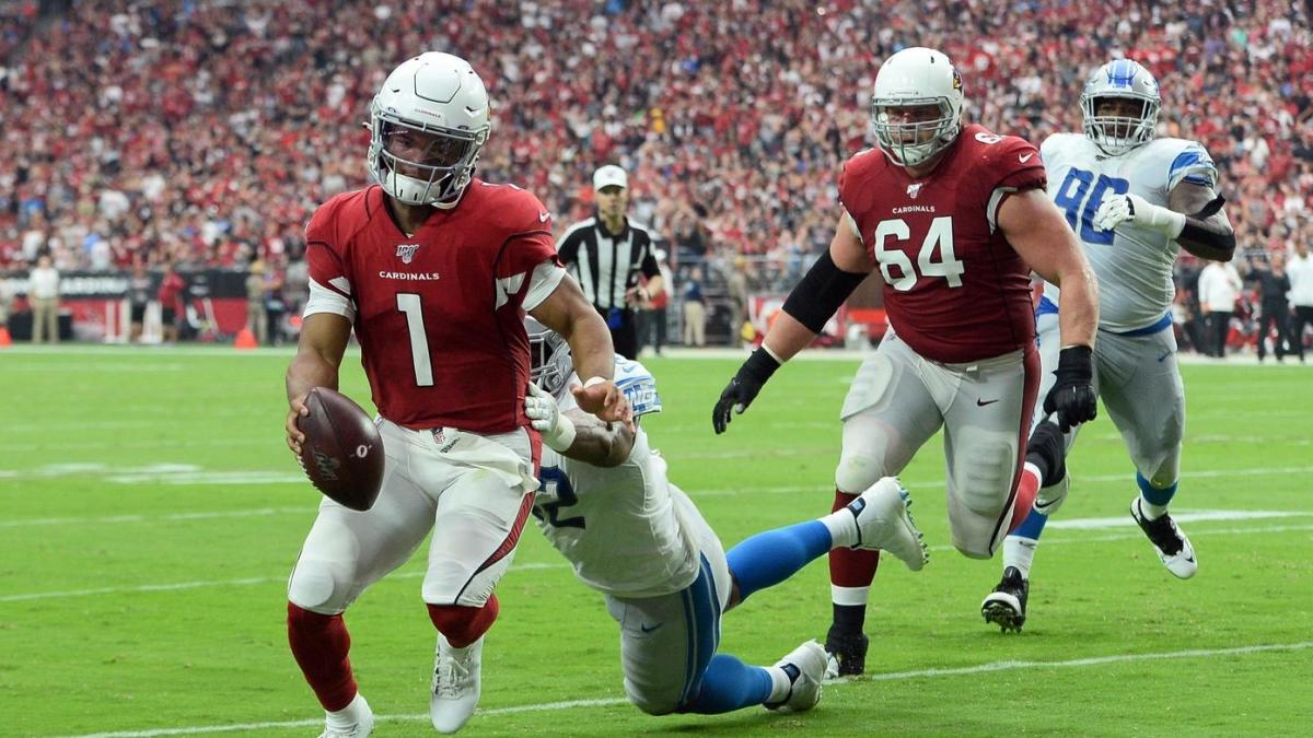 Kyler Murray goes from sacked by his teammate to comeback kid, leading Cardinals to an improbable tie