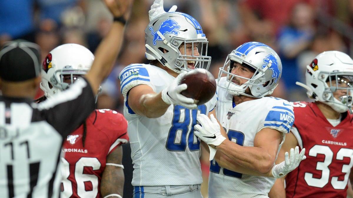 10 most surprising Week 1 NFL breakouts: T.J. Hockenson makes history, Gardner Minshew breaks all-time rookie record