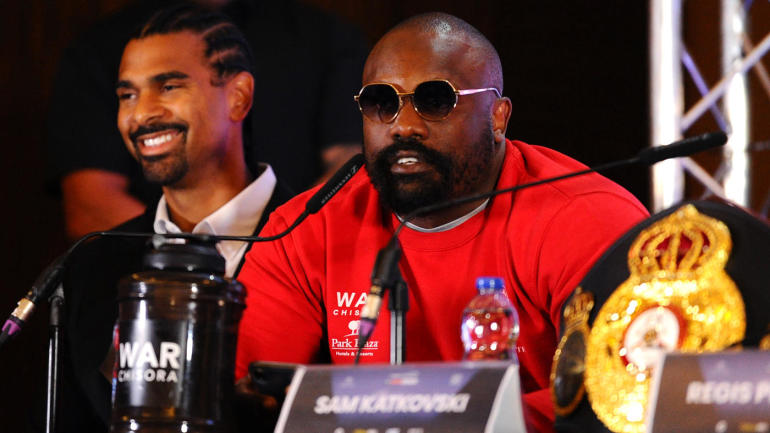 Dereck Chisora lashes out at Eddie Hearn, storms out of press conference over placement on card