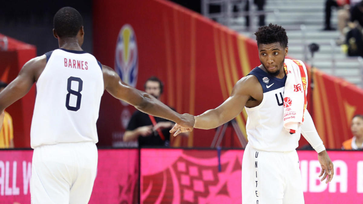 Team USA basketball vs  Serbia FIBA World Cup 2019: Live