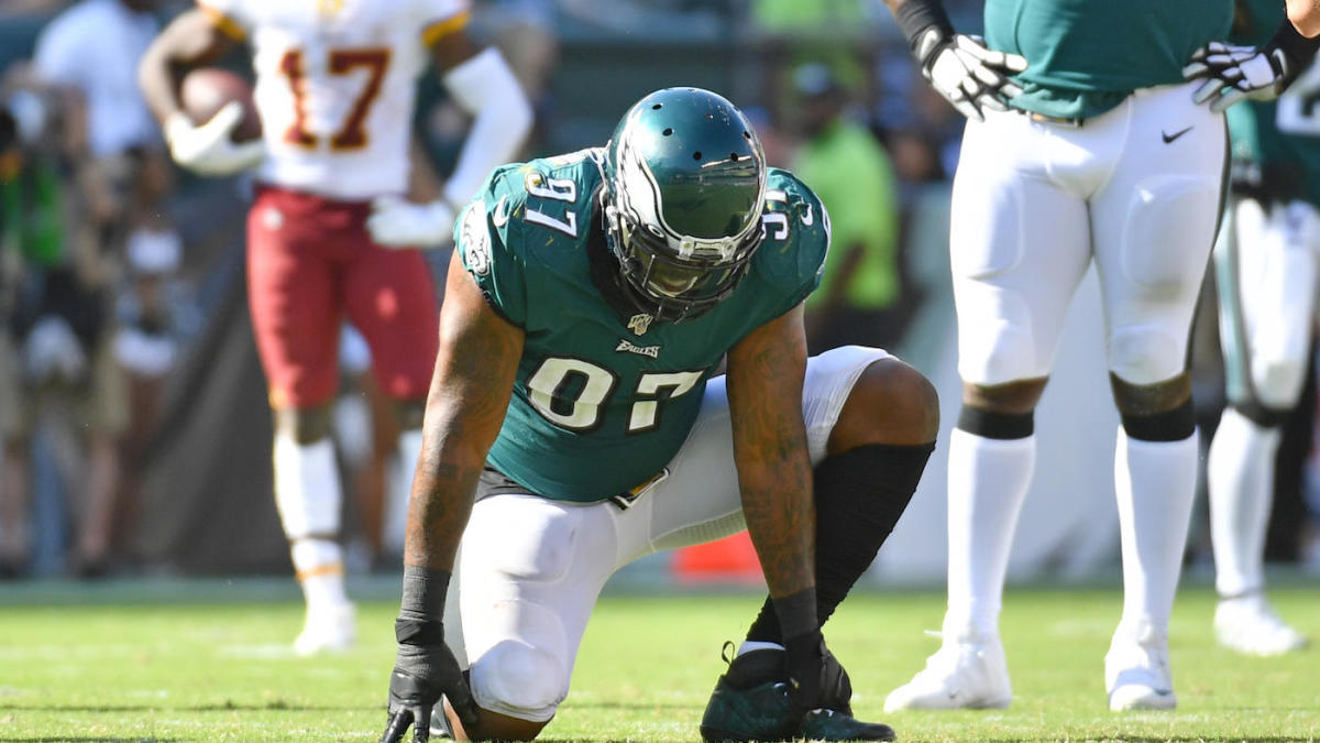 Eagles' Malik Jackson reportedly will miss remainder of 2019 season after suffering Lisfranc injury