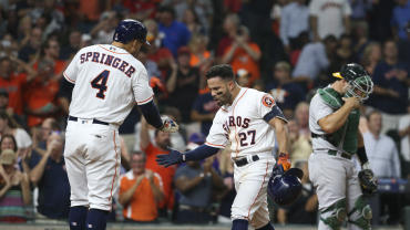 Astros win 5th straight in quest for home field - CBSSports com