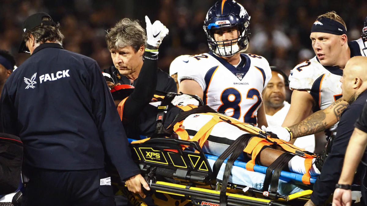 Raiders' Gareon Conley confirms he is 'good to go' after being carted off vs. Broncos with scary neck injury