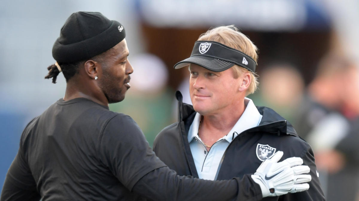 Jon Gruden admits that losing Antonio Brown might have actually hurt the Raiders offense