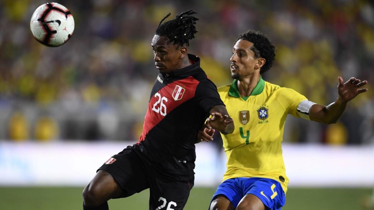 Peru Scores Late Goal For Revenge Win Over Brazil In Copa America Final Rematch Cbssports Com