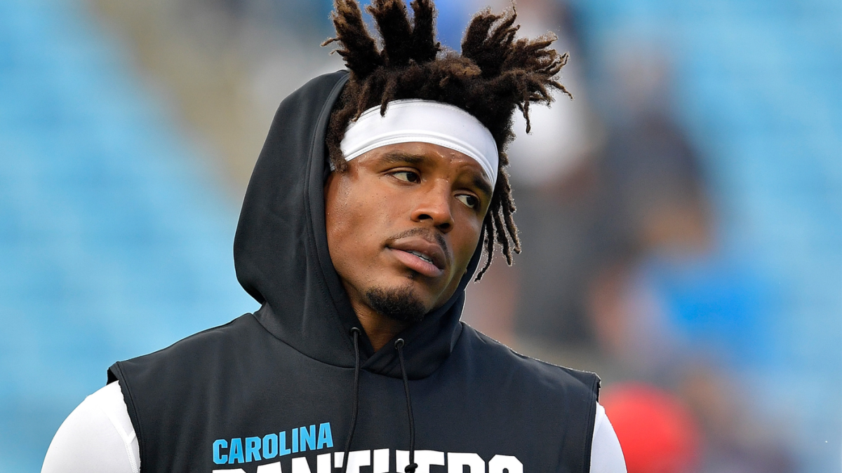 Twitter reacts to Cam Newton's latest bizarre outfit choice for Thursday Night Football