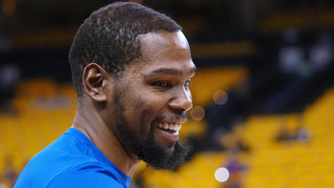 Kevin Durant may have a better idea about what happiness is than you might think