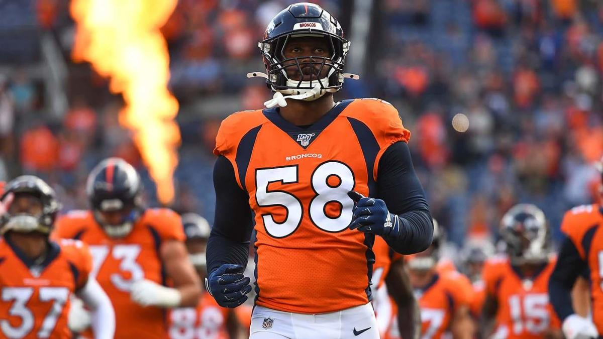 Von Miller injury: Broncos star expected to need season-ending ankle surgery per report – CBSSports.com
