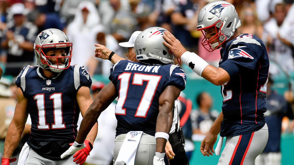 Antonio Brown released: Why the Patriots could be in trouble at receiver if things get any worse