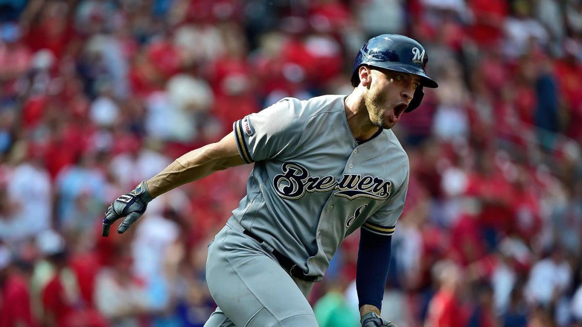 MLB scores: Brewers' Ryan Braun sinks Cardinals with ninth inning grand slam; Reds' Eugenio Suarez ties MLB home run lead