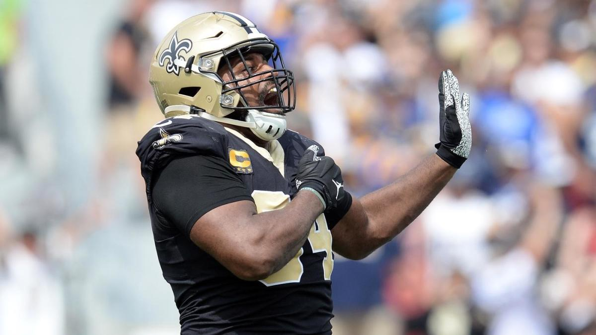 Cameron Jordan, frustrated by call in Saints-Rams game, jokes about 'Foot Locker' ref