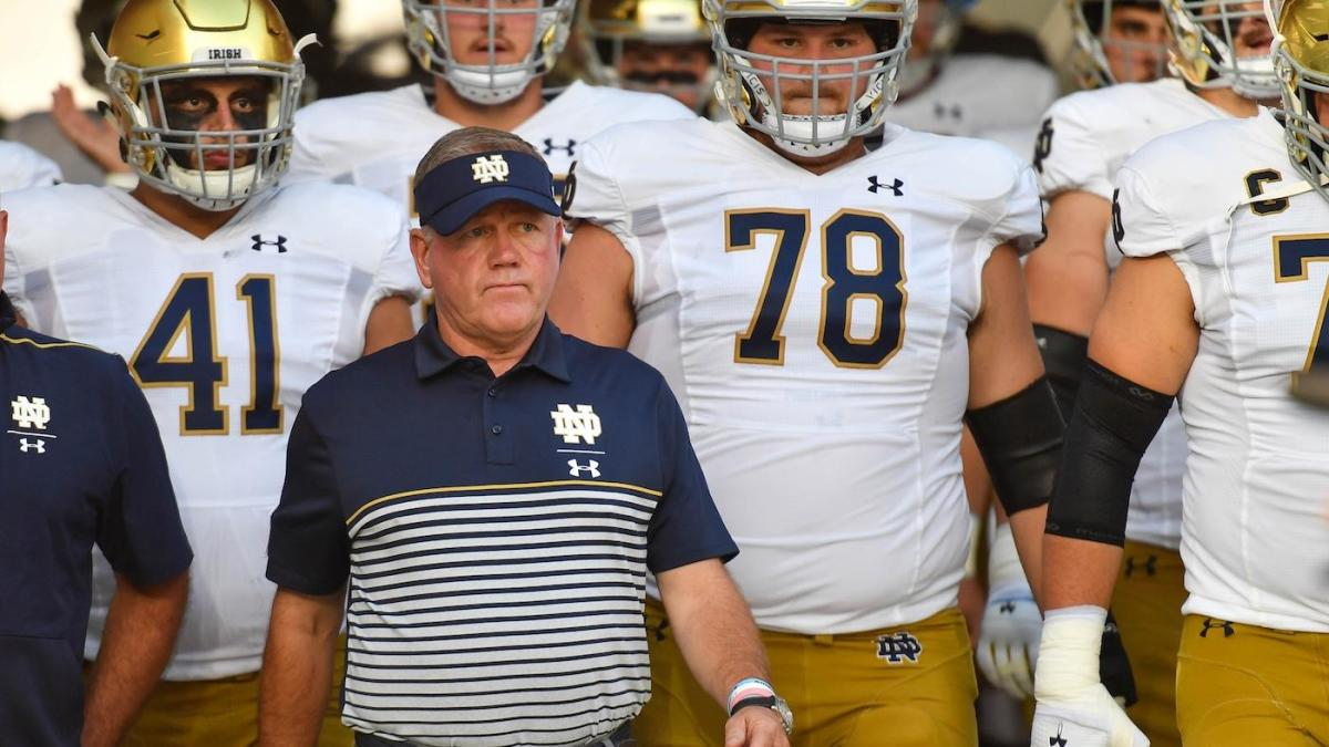 Notre Dame must prove it belongs in the College Football Playoff discussion against Georgia