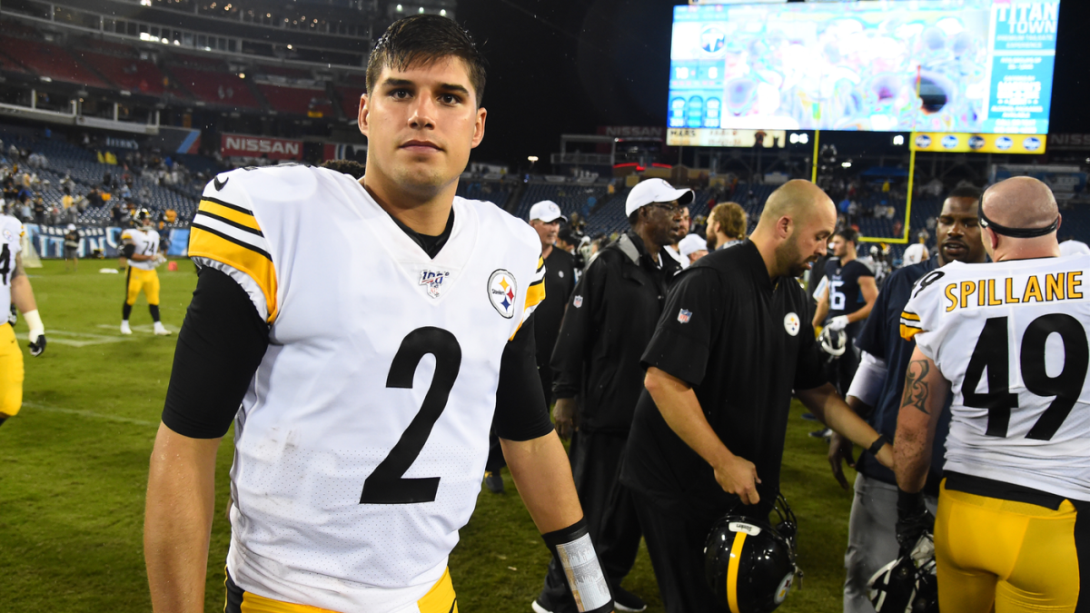 Mason Rudolph Talks About Being Steelers New Starting Qb Says Relationship With Ben Roethlisberger Has Definitely Grown Cbssports Com