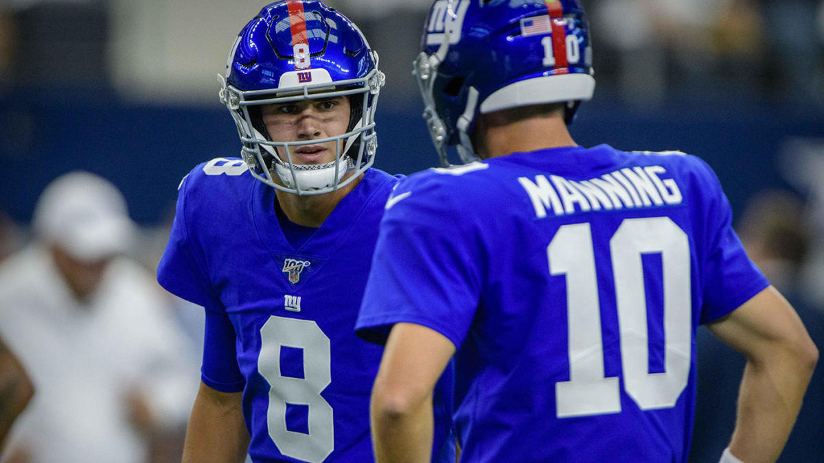 Comparing Daniel Jones' first Giants start with Eli Manning in 2004, Phil Simms in 1979
