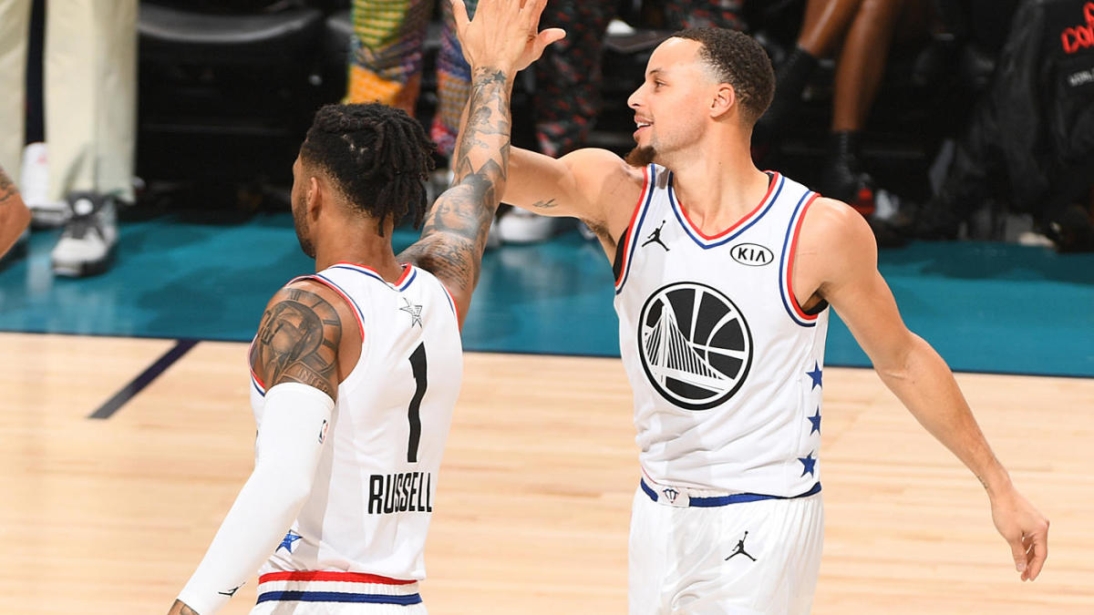 Key question for each NBA team before training camp: Steph Curry and D'Angelo Russell's chemistry, Lakers' PG plan, more