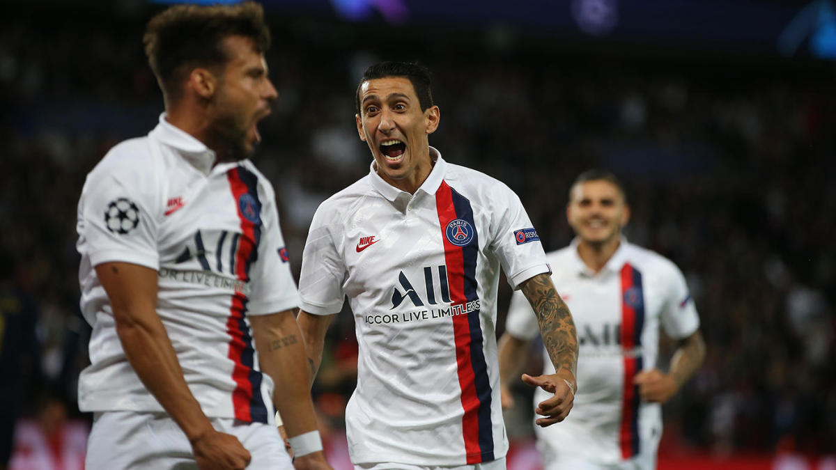 PSG Vs Real Madrid Score Di Maria Punishes Former Team