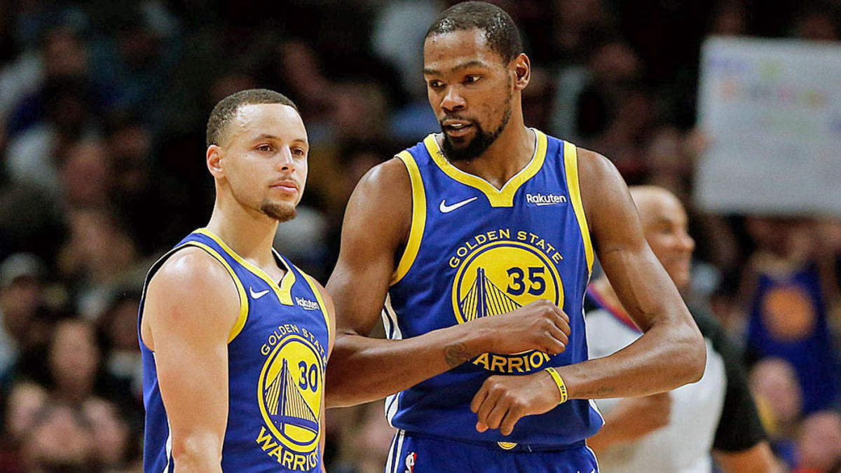 the latest 831aa b3cf3 Stephen Curry responds to Kevin Durant's comments about not ...