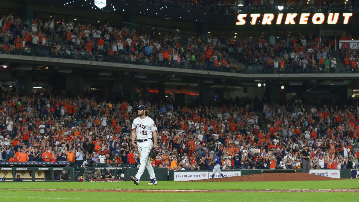 MLB scores: Gerrit Cole reaches 300 strikeouts as Astros clinch postseason spot; Giants' Bruce Bochy gets 2,000th win