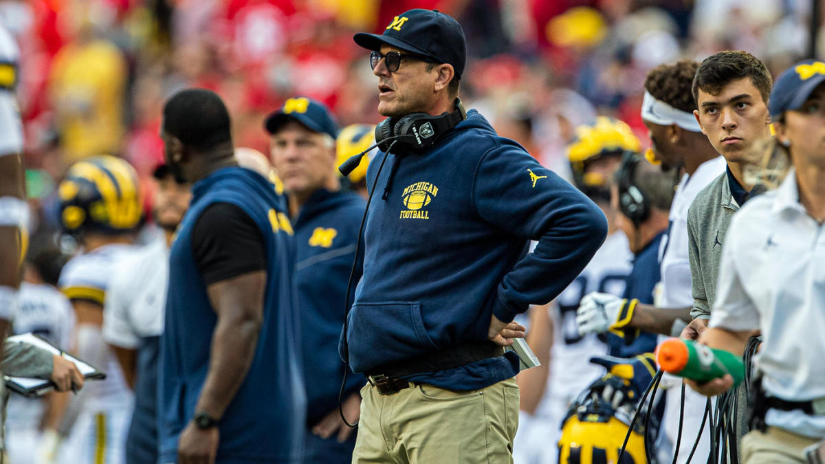 Michigan, Jim Harbaugh embarrassed again as Wisconsin loss proves Wolverines' ceiling is low